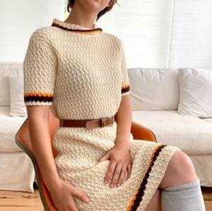 Vintage 1960s knit dress